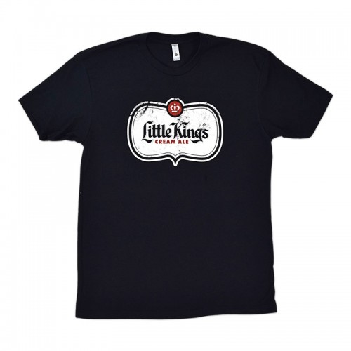 Little Kings Black Shield Logo T-Shirt