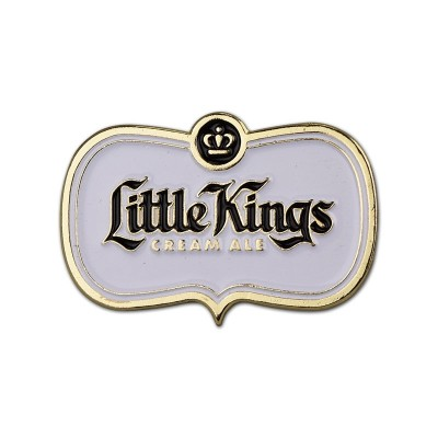 Little Kings Logo Shield Enamel Pin
